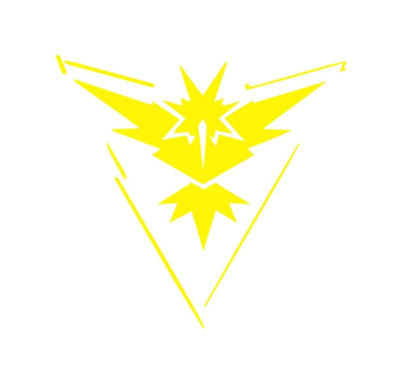 4041ea73c1 Squadra di istinto Pokemon Go Zapdos uccello leggendario | Etsy