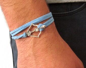 Mens Arrow Bracelet Etsy