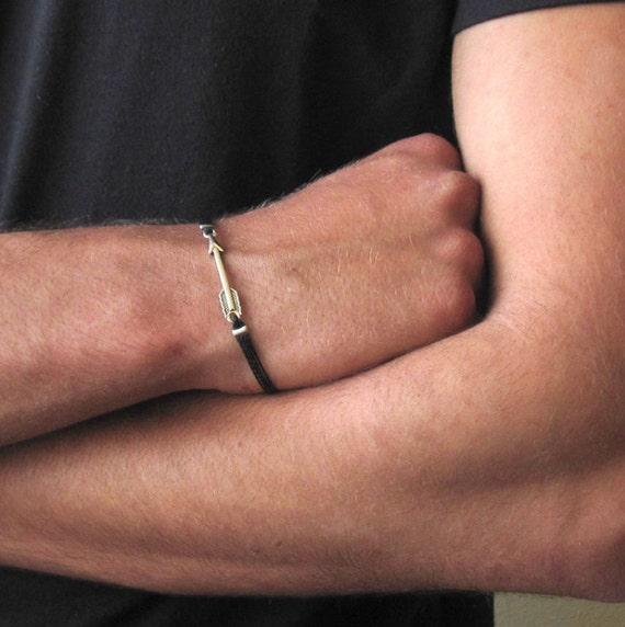 Arrow Bracelet Bracelet For Men Mens String Bracelet Etsy