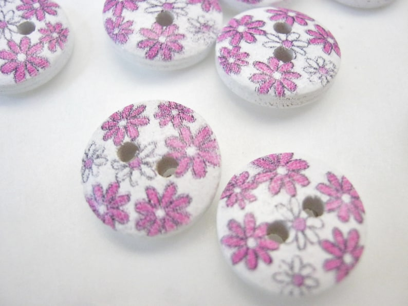 10 Baby Buttons 12mm 1//2 inch Baby Boy Girl Clothing Knitting Sewing Buttons