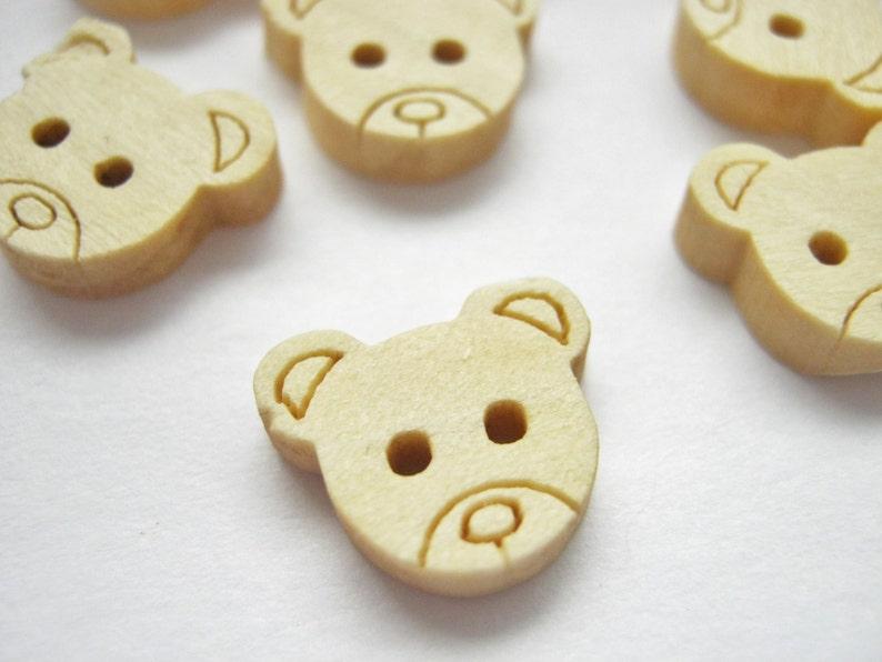10 en bois orange boutons 15 mm tricoter GRATUIT UK p/&p Couture Artisanat