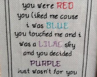 Halsey lyrics   Etsy