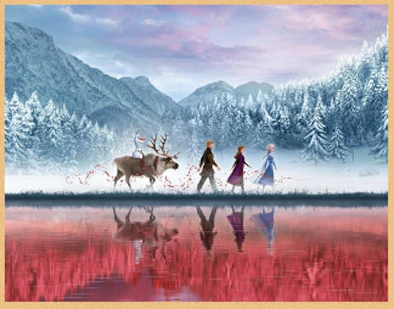 More Frozen Adventures Cross Stitch Pattern Downloadable PDF Frozen 2 Disney Frozen Disney Cross Stitch
