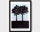 I hope we keep growing concurrently - Illustration- Giclée Print - Limited edition- Handmade