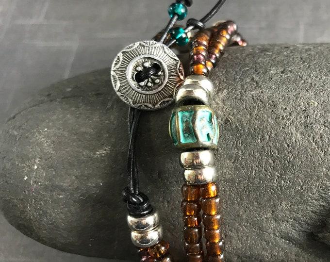 Wrap Bracelet Boho Chic Summer Wardrobe