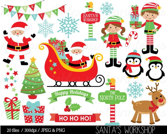 christmas clipart christmas clip art elf elves santa etsy christmas clipart christmas clip art elf elves santa sleigh reindeer bunting snowflake commercial personal buy 2 get 1 free