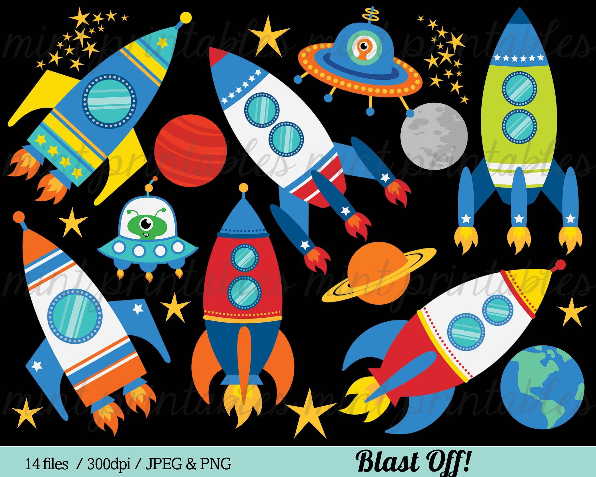 Space Rocket Clipart Rocket Clip Art Spaceship Rocketship