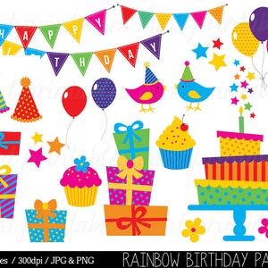 instant download balloon clip art Quentin birthday clip art images party clip art