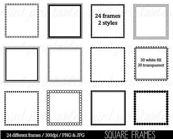 Square Frames Clipart Clip Art Square Borders Clipart Clip