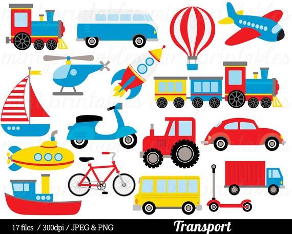 Den Transport Transport Clipart ClipArt Zug Auto LKW
