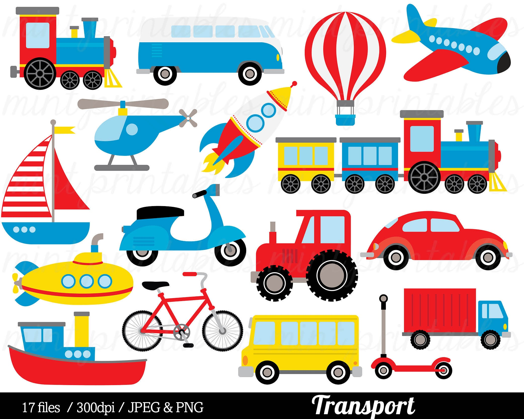 Transport Clipart Transport Clip Art Train Car Truck