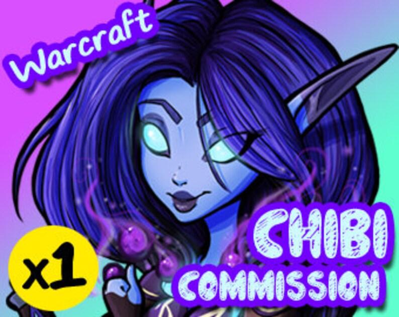 World of Warcraft Custom Character Profile Image Icon YOUR image 1