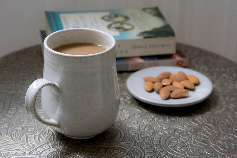 fc8dddfc15b White Tableware Gift, Hot Chocolate Big Mug, Large Pottery Mug, Coffee  Mugs, 14 ounce, Cozy Mug, Gift For Design Lover, Rustic Ceramics