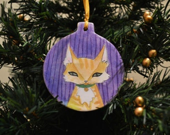 Little Kitty Ornament