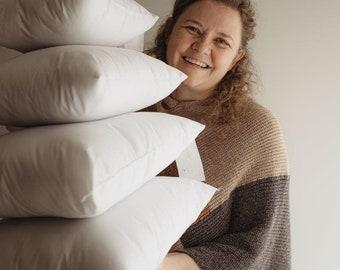 22x22 | Indoor Outdoor Hypoallergenic Polyester Pillow Economical Insert