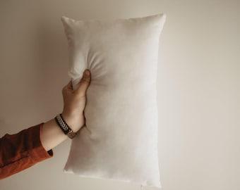 13x53 or 53x13 | Indoor Outdoor Hypoallergenic Polyester Pillow Economical Insert