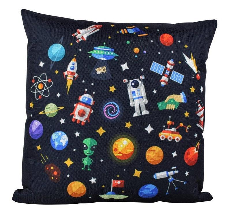 Rocket pillow case | Etsy