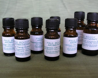 Organic Essential Oils - Peppermint.