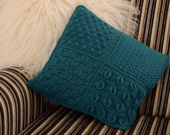 Caledonia Textured Cushion Crochet PDF pattern