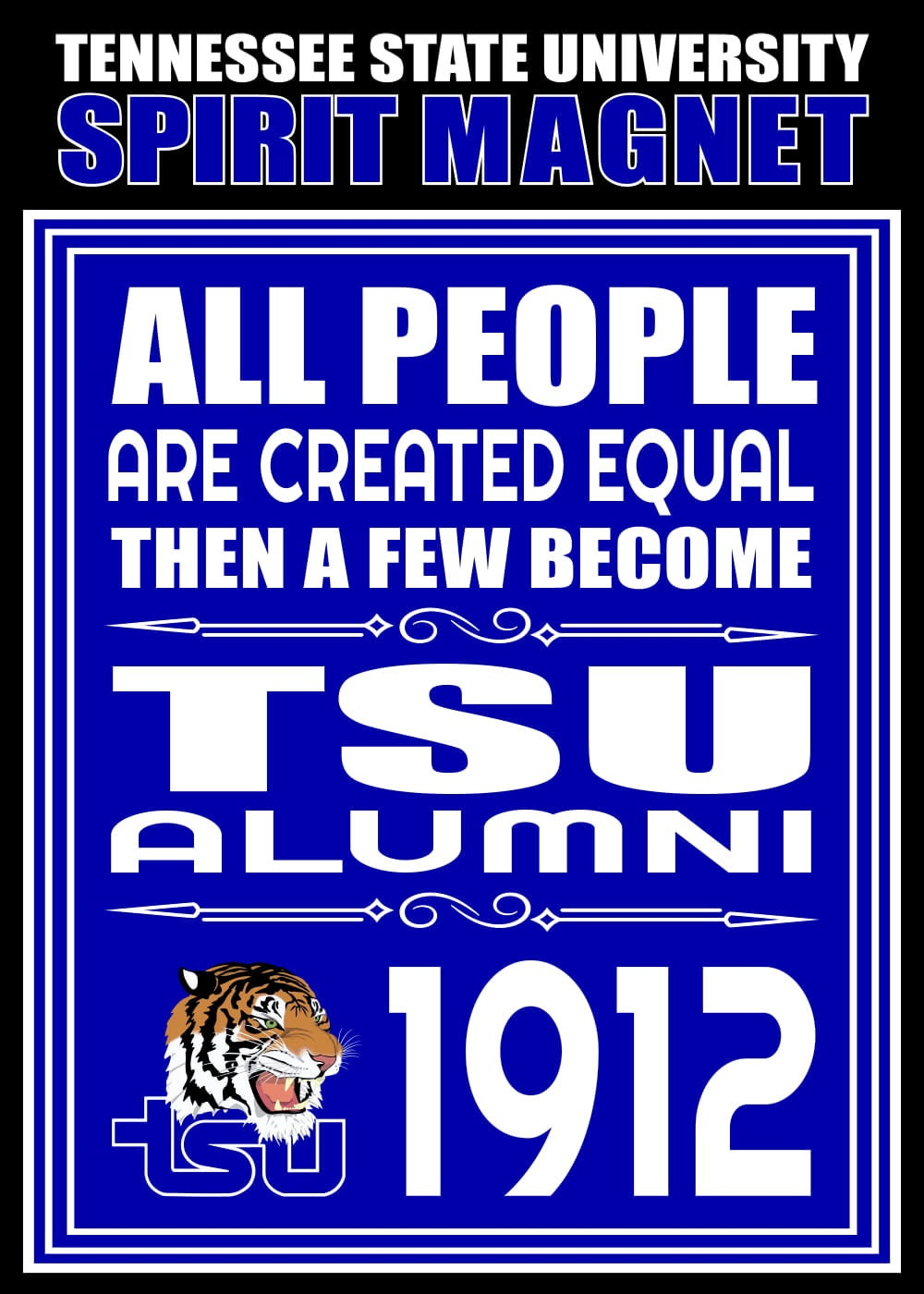 Tennessee Tech University Spirit Magnet