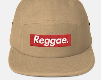 4ad4f6057c3a3 Reggae Embroidered 5 Panel Hat