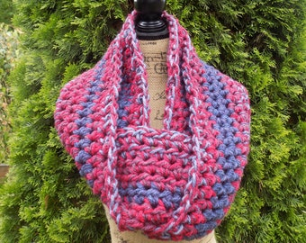 Chunky Ombre Eternity Scarf