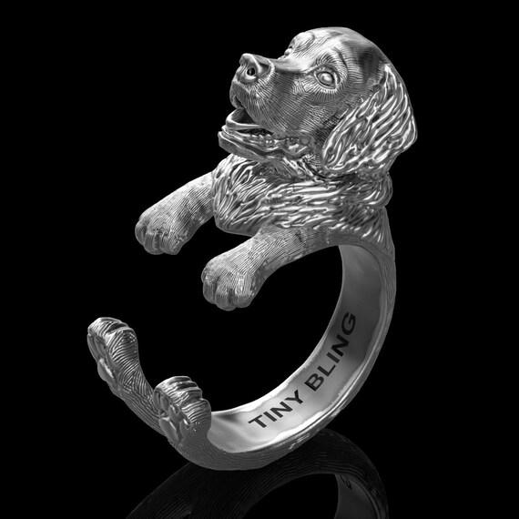 Handmade Golden Retriever Jewelry 925 Sterling Silver Cuddle Etsy
