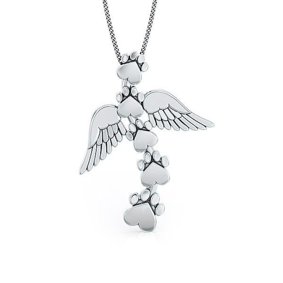 Sterling Silver Heavens Paws Pendant
