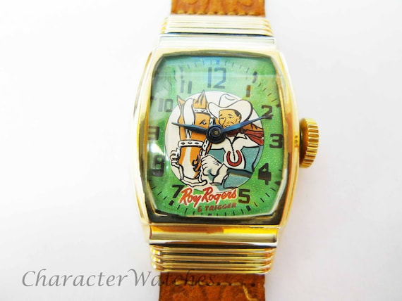 Vintage Roy Rogers & Trigger 1940's Manual Watch R