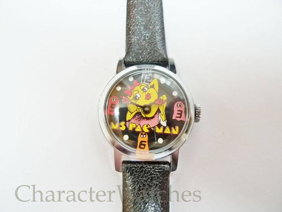 Bradley 1980 MS Pac-Man Swiss Made 1 Jewel Manual