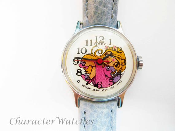 Timex Miss Piggy Henson Woman's Watch 1982 Manual
