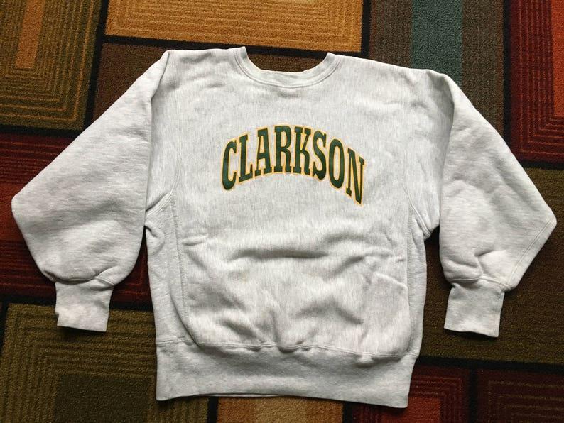 eadd55b5 Vintage 80s 90s Clarkson University Reverse Weave Champion   Etsy