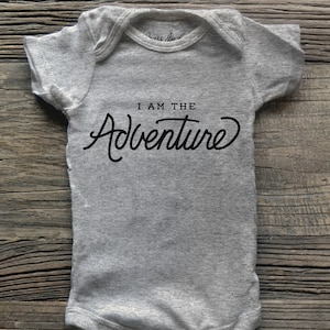 New Parents. Kid Outdoors Unique Baby Shower Outfit Future Explorer Adventure Baby Onesie Bodysuit Hiking Announcement one of a kind