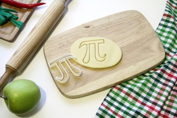 Pi 3.14 Cookie Cutter Cupcake Topper Fondant Gingerbread Cutter
