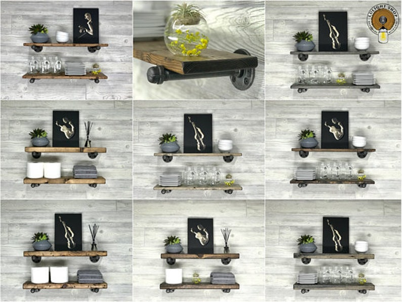 DARK WALNUT Vanity Light, Bathroom Light Fixture, Industrial Lighting,  Rustic Lights, Bathroom Light, Cage Sconce, Wood Cage Light Fixture