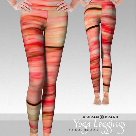 Workout Leggings Yoga Pants Autumn Dream 9 Yoga Leggings