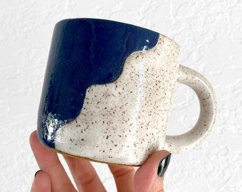 Wavy Mug - Ocean