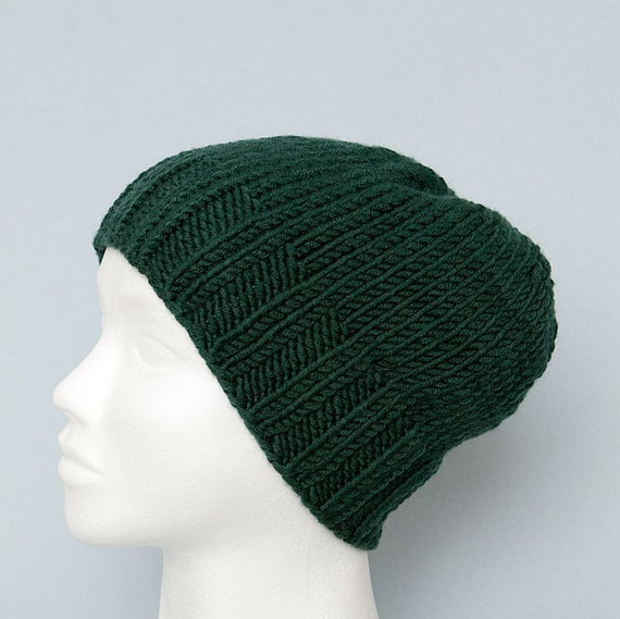 c3dc0ef0a58 Green knit hats Womens beanies Wool slouchy beanie Kids Knit hats women  Merino beanie Girl hat Mens merino wool beanies