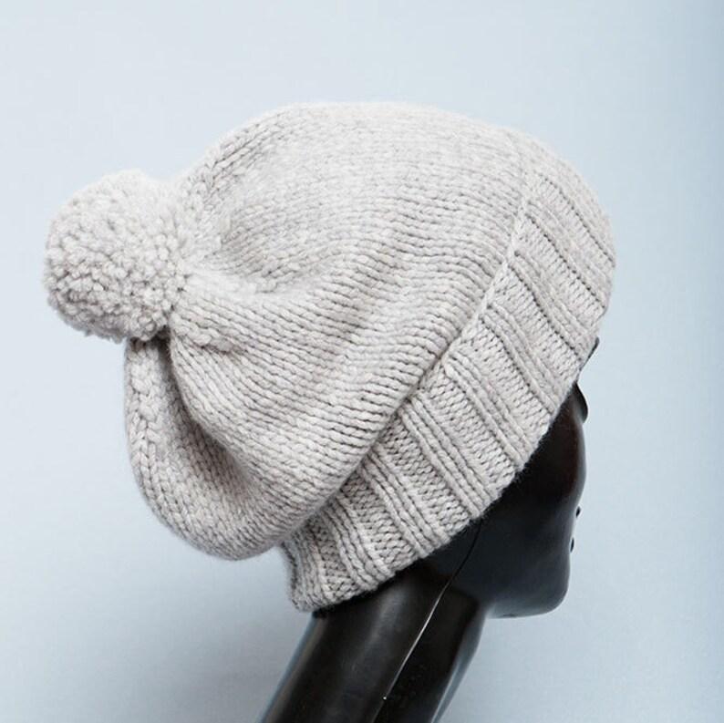 34670d04d6b5b Gray Cashmere hat Beanie men Knit hats women Cashmere beanie