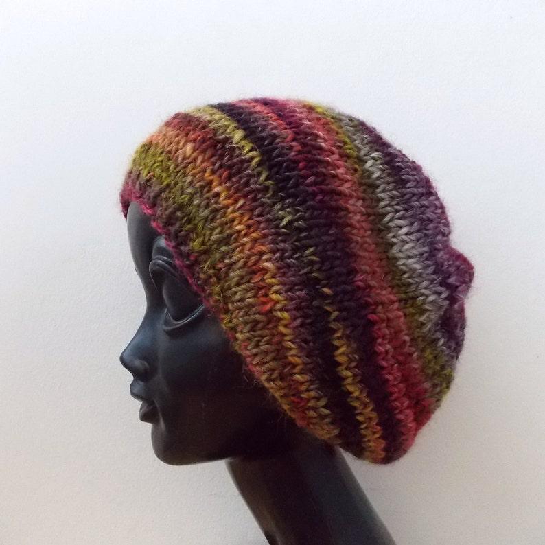 37cdca8b105 Wool beanie Hats women Knit hat women Beanie wool Slouchy | Etsy