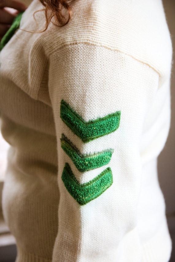1940s Cheer Varsity Sweater - image 3