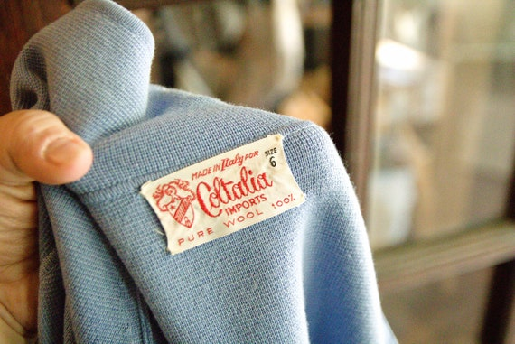 Coltalia Imports 1950's Sweater Top - image 4
