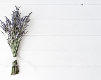 Styled Floral Desktop Stock photography - Lavender - feminine - High Res Jpeg file 300Dpi