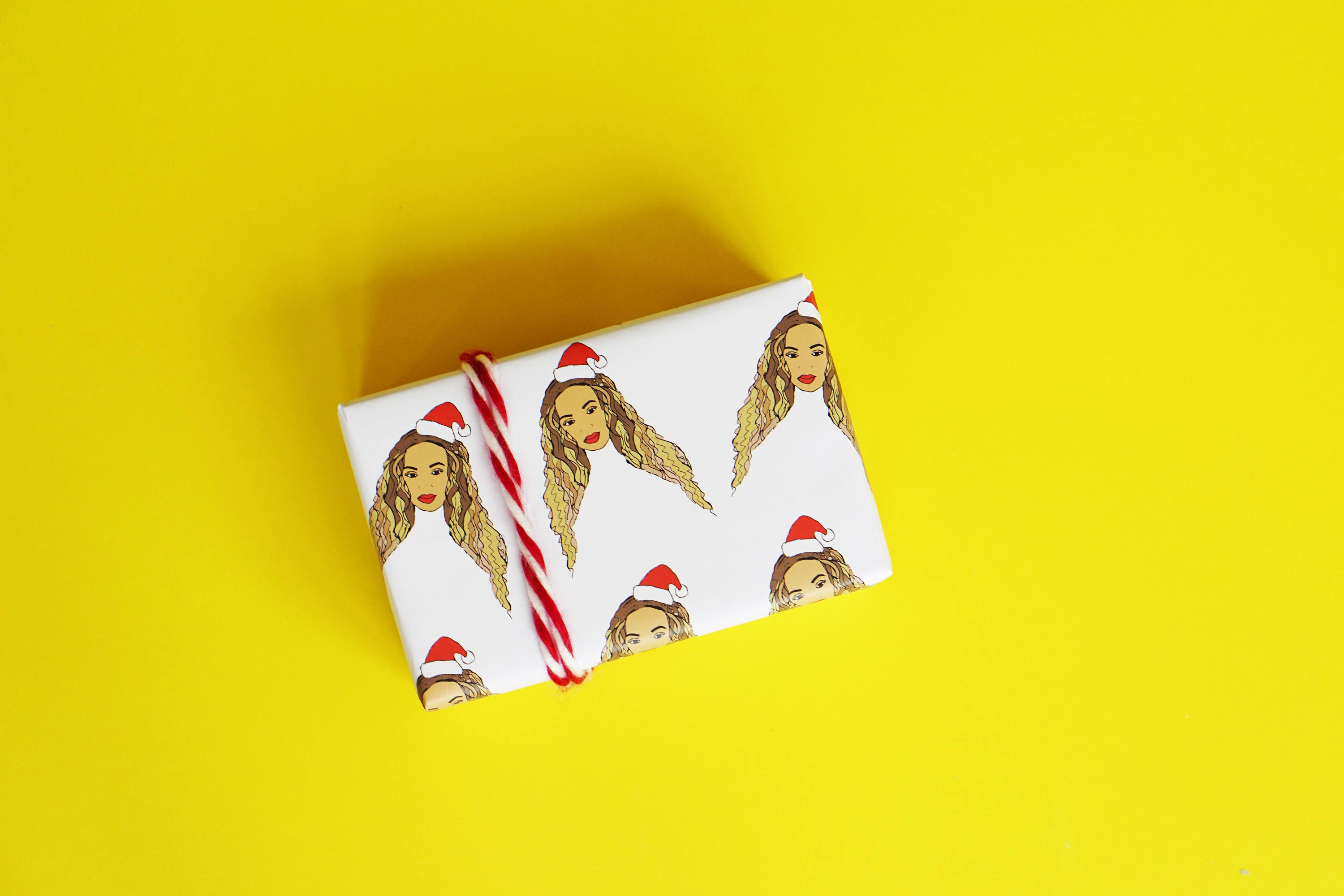 Beyonce Wrapping Paper...Beyonce Christmas Gift...Funny Gift | Etsy