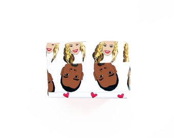 Funny BeyJay Double Sided Gift Wrap...Wrapping Paper...Funny Christmas Gift Wrap...Funny Wrapping Paper...Christmas Gift...Holiday Wrap
