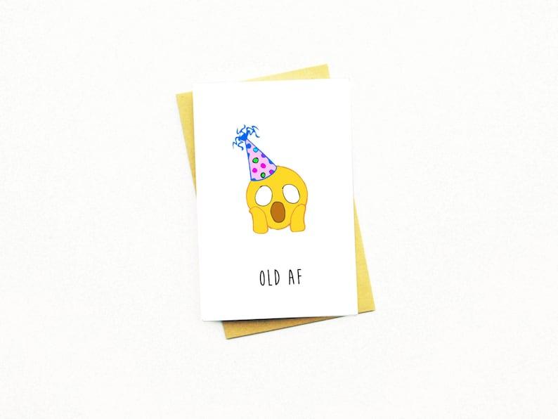 Funny Birthday CardBirthday CardAdult Birthday18th