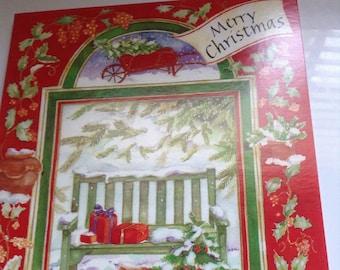 Vintage Gordon Fraser Christmas card unused+env