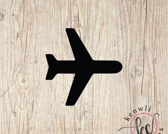 Airplane Vinyl Decal-Style 10
