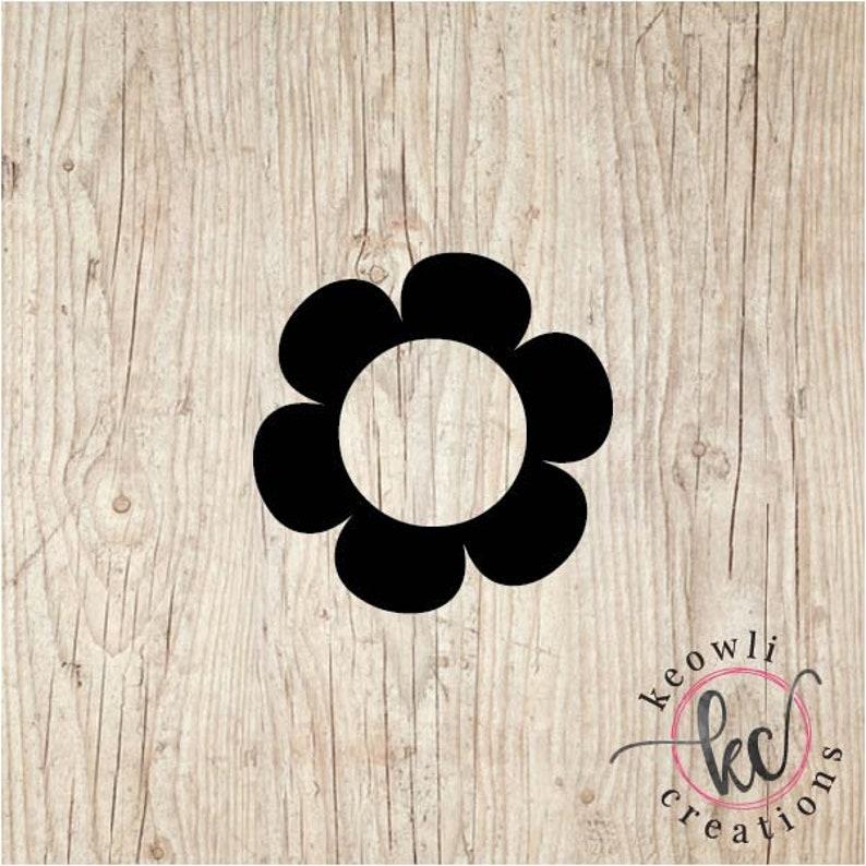 Flower Vinyl Decal-Style 4