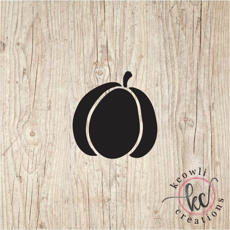 Pumpkin Vinyl Decal-Style 03